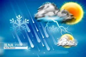 بارشهای بهاری در برخی مناطق استان قزوین