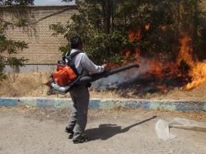 خیرین مرودشتی ۷ دستگاه مهار آتش به منابع طبیعی هدیه کردند