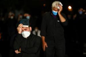 گریه های بی امان با روضه خوانی حاج حسین انصاریان در شب بیست و یکم