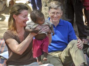 عکس/ 27 سال زندگی مشترک بیل گیتس و همسرش در آستانه جدایی