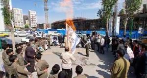 عکس/ تجمع خودجوش مردم اردبیل به مناسبت روز جهانی قدس