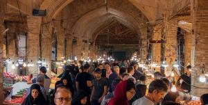 بازار زنجان پس از یک ماه تعطیلی بازگشایی شد