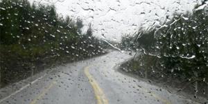 بارندگی شدید در محورهای کوهستانی مازندران