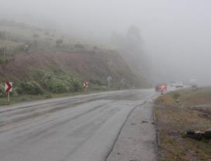 مه غلیظ در آزادراههای استان زنجان