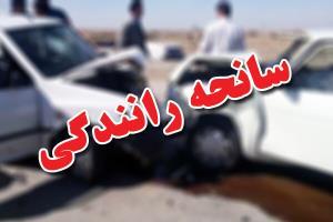 یک کشته در سانحه رانندگی محور شازند-سورانه