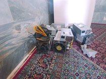 کشف ۹۰ دستگاه استخراج رمز ارز غیرمجاز در کردستان