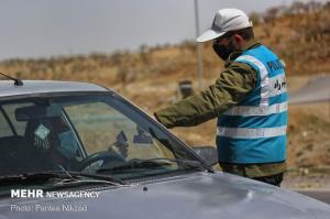 حضور ۳۲ تیم کنترلی پلیس راهور در مبادی ورودی و خروجی شهرهای ایلام