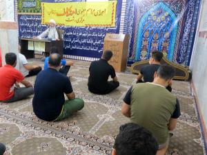 برگزاری مراسم اعتکاف در زندانهای استان گیلان