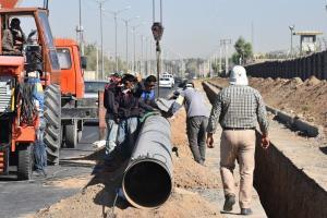 خط لوله تغذیه گاز خرمآباد بازسازی شد