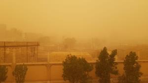 اعلام آخرین وضعیت گردوغبار در کرمان