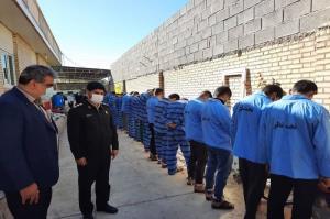 دستگیری ۸۷ سارق حرفهای و عامل تیراندازی در اهواز