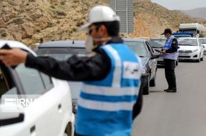 ۲۰۲ خودروی غیربومی در جادههای خراسان رضوی جریمه شد