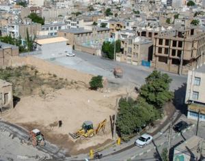 عکس/ تخریب خانه تاریخی «حاج باشی» در اراک