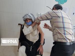 ۵۹۰ دوز واکسن کرونا در باشت تزریق شد