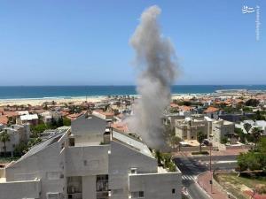 حمله موشکی مقاومت به شهرکهای صهیونیستنشین