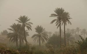 هوای شهرستان قصرشیرین غبارآلود شد