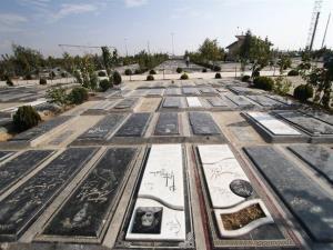 ورود مردم به آرامستان بهشت سکینه (س) کرج ممنوع شد