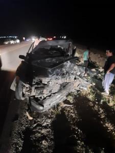 ۷ مصدوم در حادثه رانندگی فسا