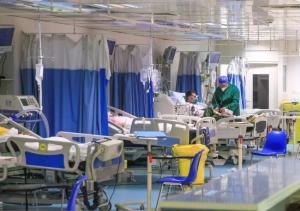 بیمارستان ولی عصر(عج) اراک بیماران جدید کرونایی را پذیرش نمیکند
