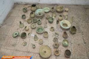 خودروی حامل اشیای تاریخی در شهرستان پاسارگاد توقیف شد