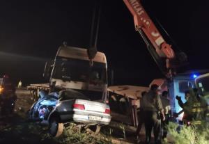 ۳ کشته در تصادف جاده ورامین-چرمشهر