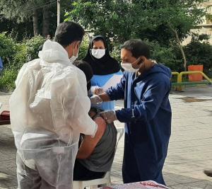 مرحله دوم واکسیناسیون کووید۱۹ در مراکز بهزیستی ایلام اغاز شد
