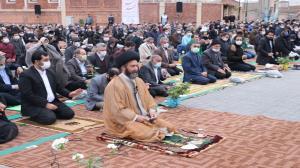 نماز عید فطر در محوطه شهیدگاه اردبیل اقامه میشود