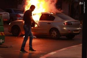 عکس/ شب سیاه صهیونیستها