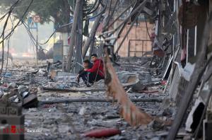 عکس/ ویرانیهای ناشی از حملات رژیم صهیونیستی به غزه