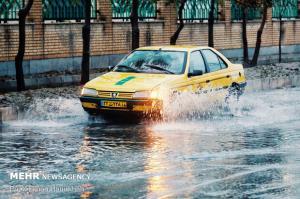 بارشها در اصفهان شدت میگیرد