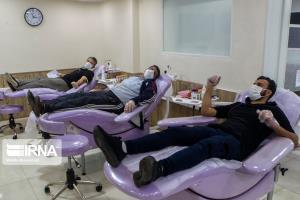 افزایش ۳۰ درصدی اهدای خون مردم گلستان در ماه رمضان