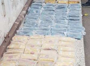 کشف مواد مخدر از مخفیگاه قاچاقچی در فردیس