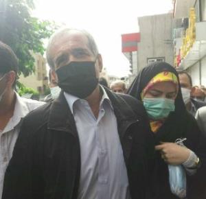مسعود پزشکیان در راه ستاد انتخابات کشور