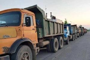 کشف ۳۰۰ تن ماسه غیر مجاز در شهرستان انزلی