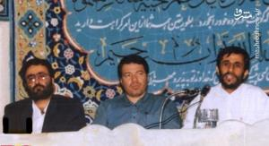عکس/ احمدی نژاد و تاج زاده پشت یک میز!