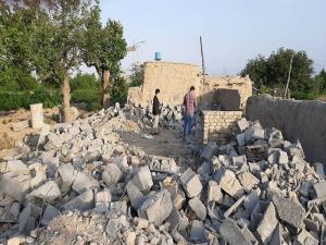 ساختوساز غیرمجاز در محوطه تاریخی بندیان درگز برچیده شد
