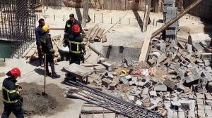 مرگ یک کارگر ساختمانی بر اثر ریزش دیوار بلوکی در اصفهان