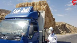 توقیف ۶۰ تن محصولات کشاورزی غیر مجاز در سرپلذهاب