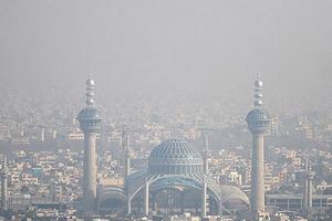 زور باران به آلودگی اصفهان نرسید