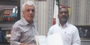 محمد جمالی رئیس کمیته پیشکسوتان فوتبال هرمزگان شد