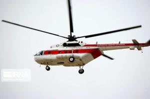 یک فروند بالگرد به مناطق زلزله زده خراسان شمالی اعزام شد