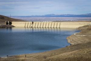 حجم ذخیره آب سد اکباتان همدان به ۶۵ درصد رسید