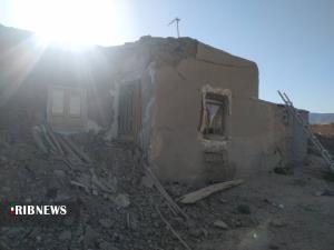 تخریب ۳۵ درصد منازل روستای شورک گرمه