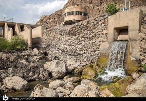 کاهش شدید ذخیره آب سد نازلیان_کرمانشاه