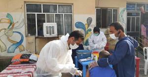 تزریق ۳۴ هزار دوز واکسن کرونا در استان اردبیل