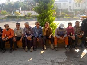 پایان اعتراض ۳ روزه کارگران شهرداری لوشان