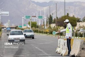 ممنوعیت تردد پلاکهای غیربومی در شهرهای قرمز و نارنجی زنجان