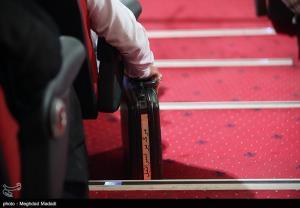 در حاشیه مراسم چهلم سردار شهید حجازی