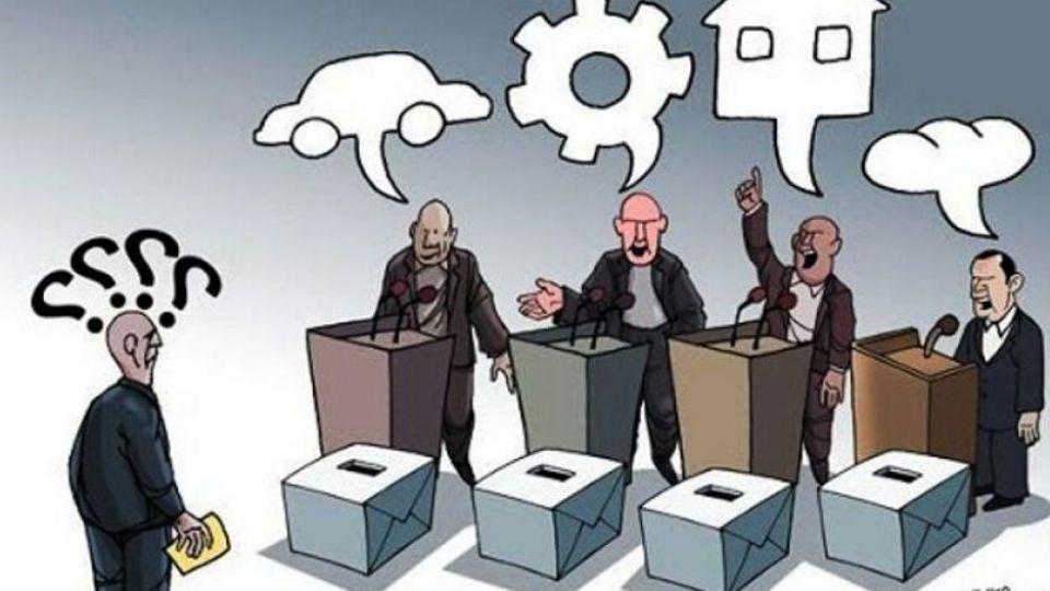 سقف کوتاه شعارهای انتخاباتی