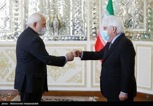 سلام کرونایی ظریف با نماینده ویژه دبیرکل سازمان ملل در امور یمن